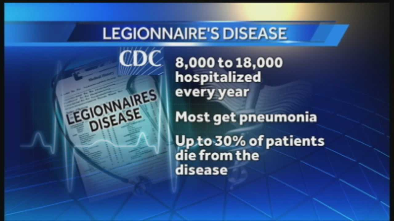 Pittsburgh man diagnosed with Legionnaire's Disease