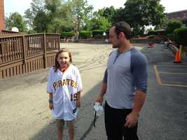 "McKenry is nicknamed ""The Fort"" among Pirates fans."