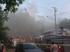 Bellevue apartment fire.