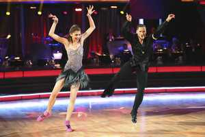 "ZENDAYA & VAL - In a final element of the competition, the three remaining couples performed a new routine in an ""Instant Dance"" - where they tackled a style they knew, but to music given to them for the first time live on television. This routine was scored out of 30 and rounded out the judges' scores across both nights, on the two-hour Season Finale of ""Dancing with the Stars the Results Show,"" (ABC/Adam Taylor)"