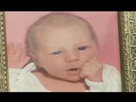 A baby picture ofAlivia Kail.