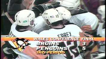 Back in 1991, it was called the Wales Conference. Today in 2013, it's the Eastern Conference. The name has changed, but the same two teams are facing each other.
