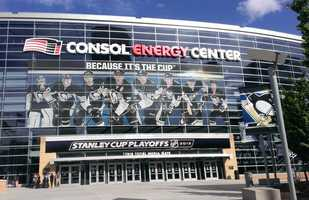 The Pens now play at Consol Energy Center.  If they can beat the Bruins like they did in 1991, it'll be their first conference championship in the new building.
