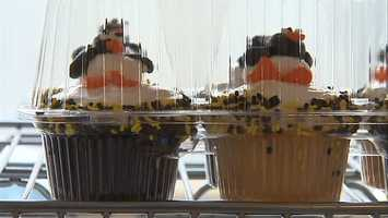 Penguins cupcakes