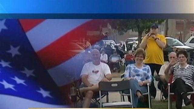 Mount Pleasant residents salute local veterans