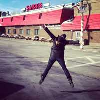 #19 - She jumped for joy when she got to go to the Sarris store for the first time this year after living 6 hours away.