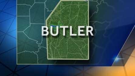 Butler County map (2016)
