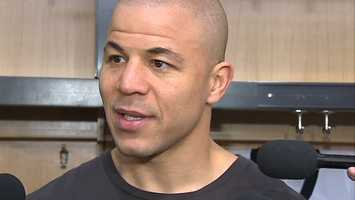"Jarome Iginla: ""It was just about winning and unfortunately we didn't get that done."""