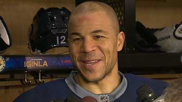 After choosing a trade to the Penguins over the Bruins (and losing to them in the conference finals), future Hall of Famer Jarome Iginla agreed to a one-year deal with Boston on the first day of NHL free agency.