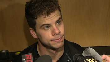 The Penguins traded forward Tyler Kennedy to the San Jose Sharks for a second-round draft pick. Kennedy was due to become a restricted free agent.