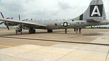 First flown in 1942, the Boeing B-29 Superfortress is likely best known for flying missions over Japan that helped end World War II.