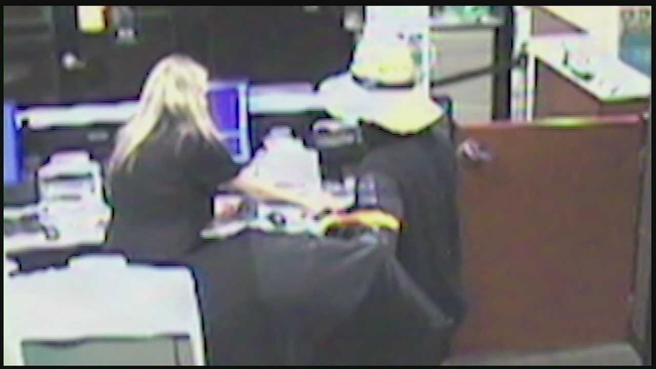 Citizens Bank robbery surveillance