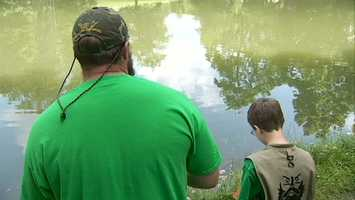 They got to enjoy the great outdoors at the Alpine Hunting and Fishing Club in Bridgeville.
