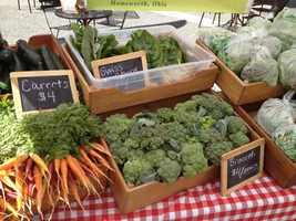 The expansion will allow the farmers market to add new vendors, plus wine tasting from local wineries.