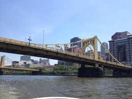 Roberto Clemente Bridge (formerly the Sixth Street Bridge)