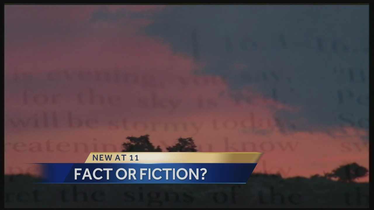 Fact or Fiction? Red Sky at Night Lore.