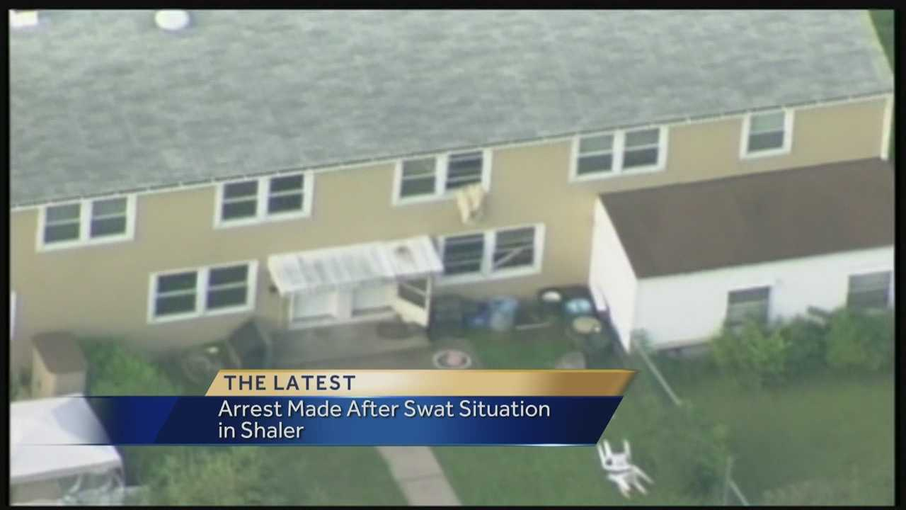img-Domestic call elevates into SWAT situation