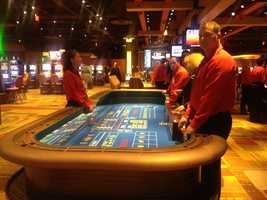The casino will also have 28 table games.