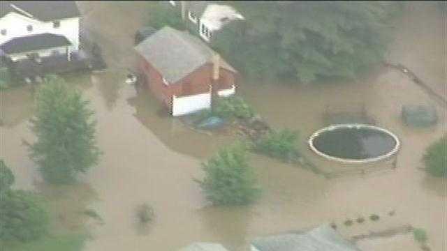 Heavy rains flood DuBois, nearby towns