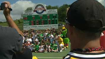 On Saturday, the Pirates hosted their fourth annual Miracle League Fantasy Camp for children with special needs.