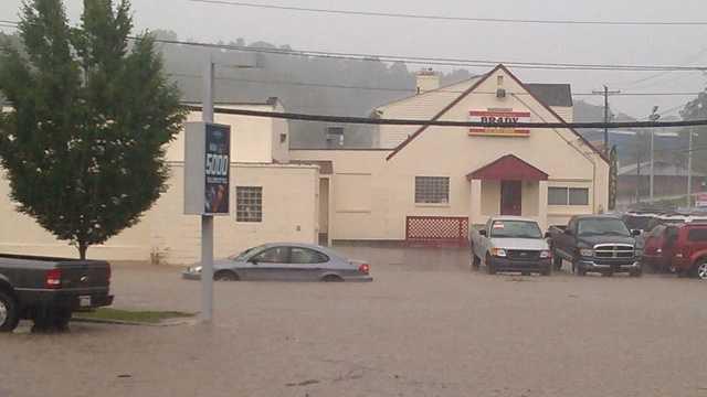 flooding on Rodi Road