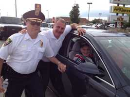 Monroeville's Police Chief at the 2013 Monroeville 4th of July Parade