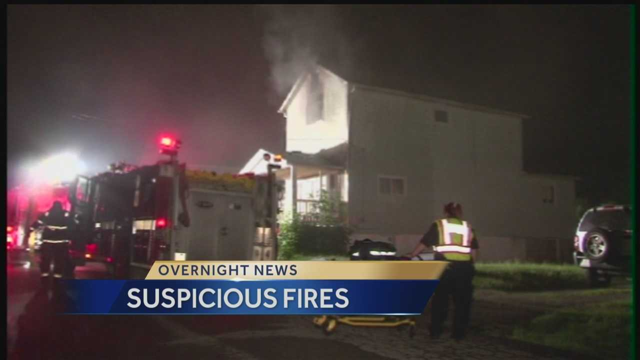 Suspicious Fires in New Castle Overnight