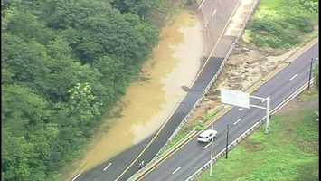 Banksville Road flooding