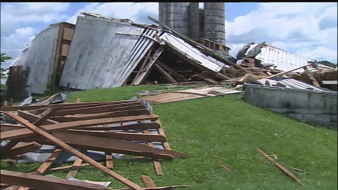 Tornado confirmed in Lawrence County