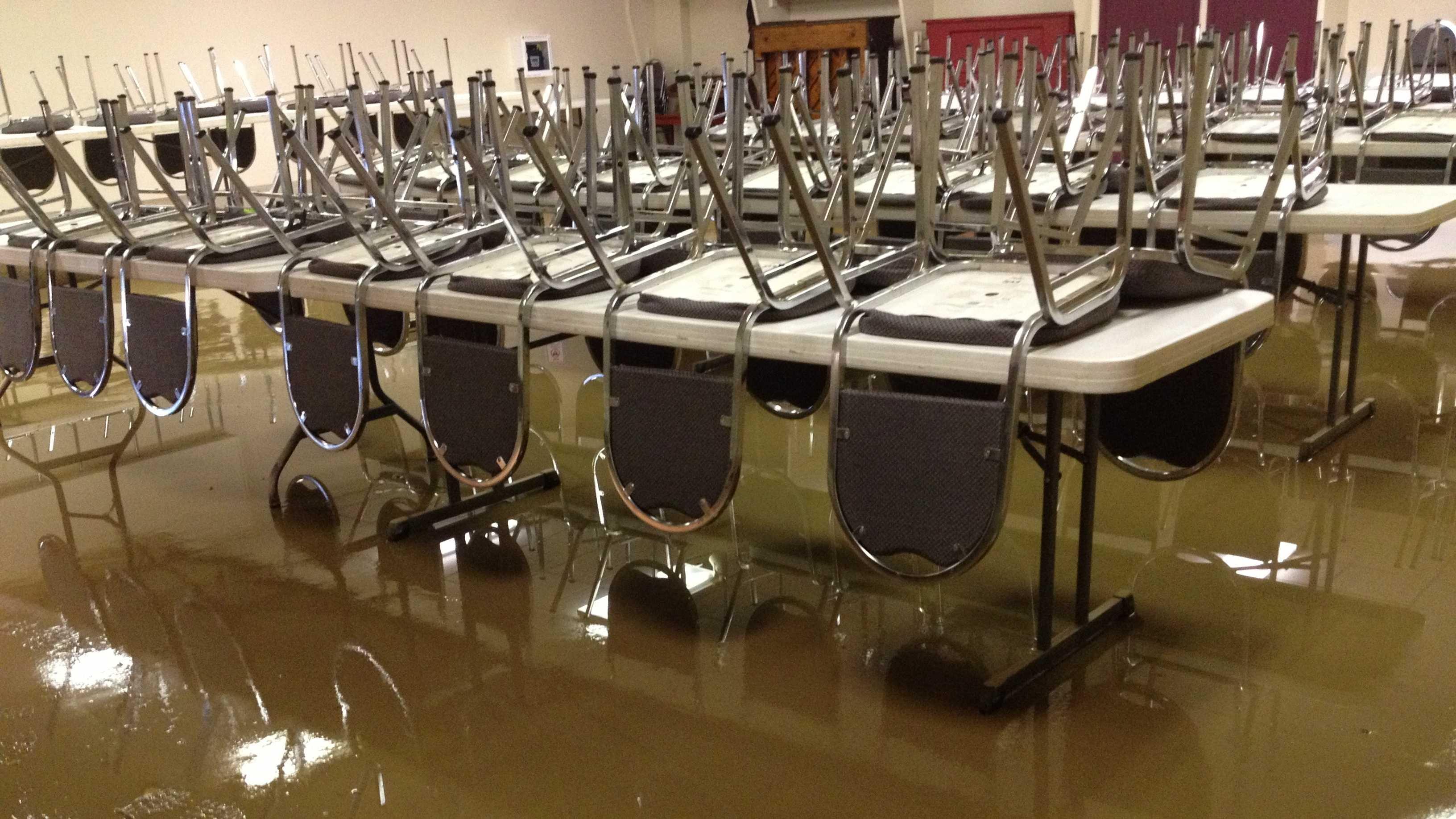 Oakdale flooding