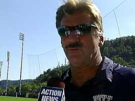 Baldwin Borough native Dave Wannstedt played football at Pitt and later coached the team for several years. His facial hair inspired a blog called The Fighting Wannstaches blog and a Twitter account calledWannysMustache.
