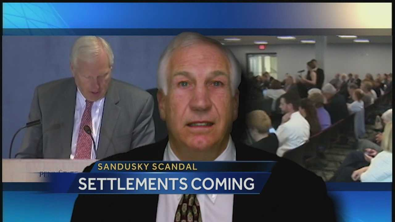 Penn State's board authorizes Sandusky settlements