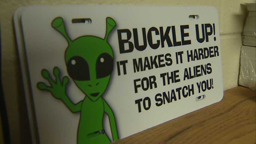 """Buckle Up"" aliens"