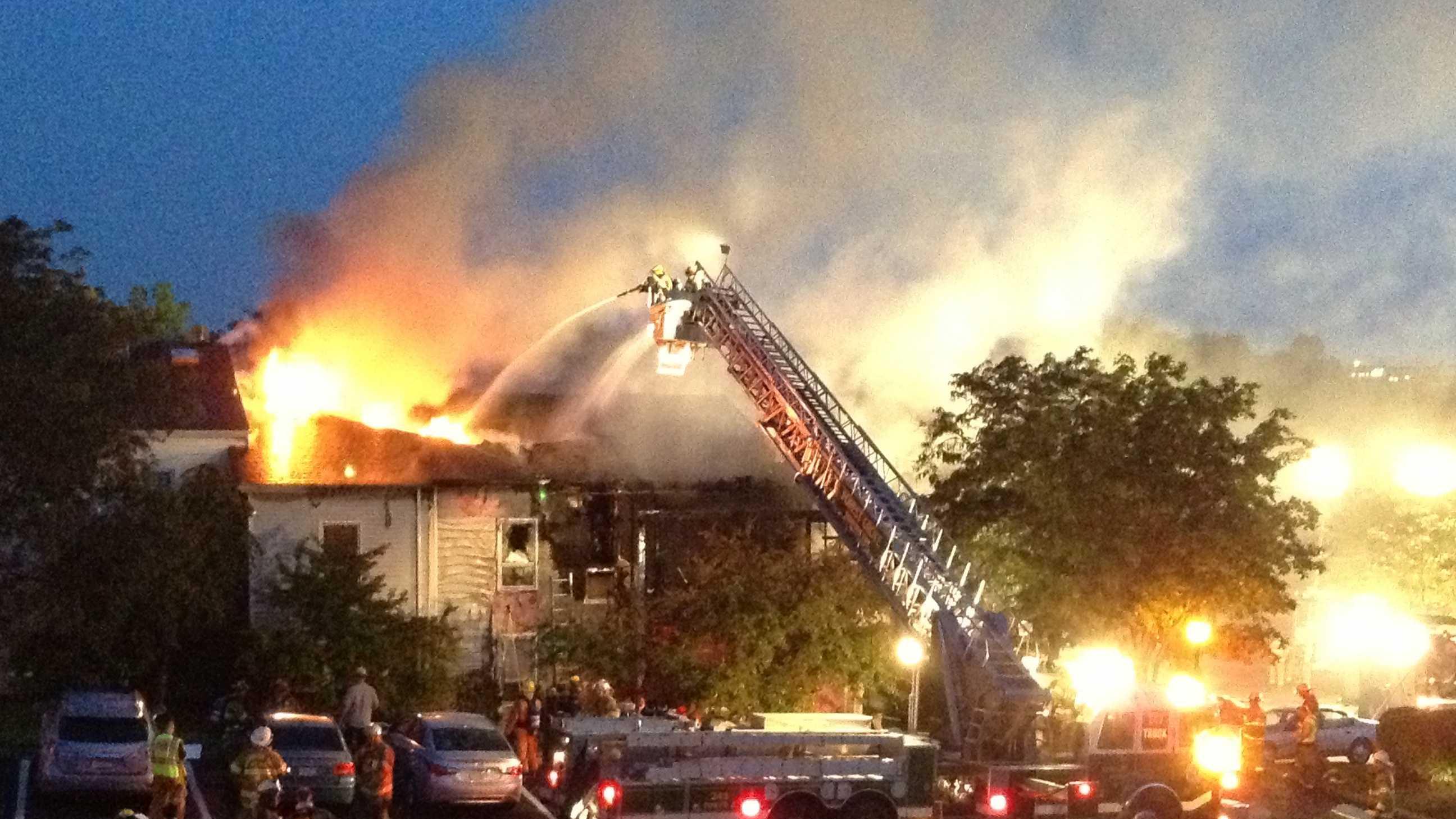 Robinson Township fire