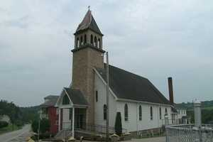 Parishioners told Channel 4 Action News a lightning strike won't affect Mass at a Fayette County church on Sunday.