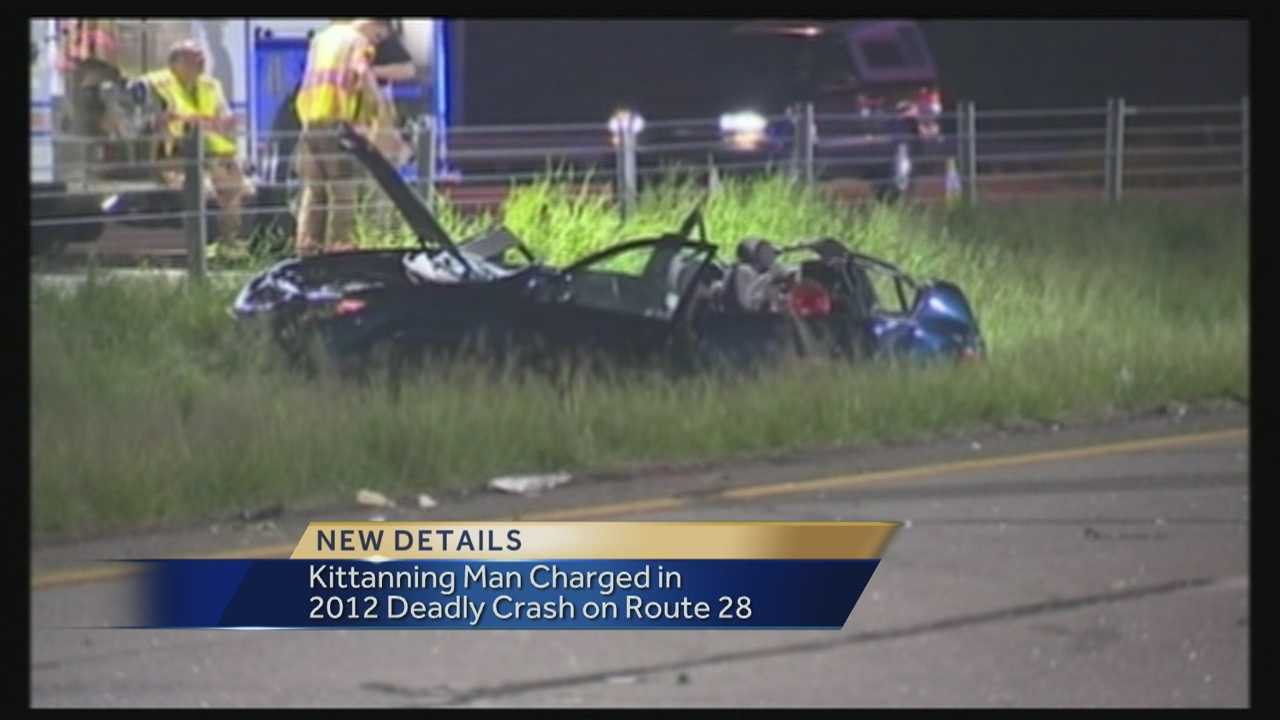 Kittanning Man Charged In Crash That Killed 6-Year-Old