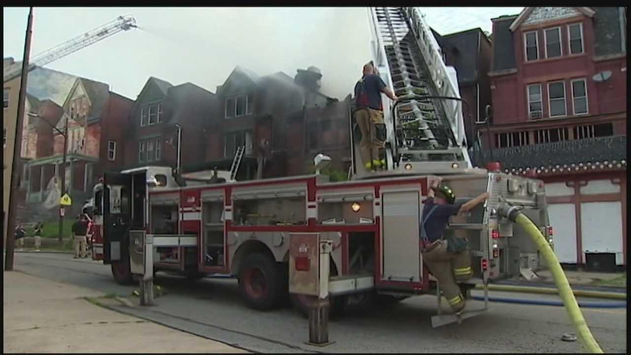 3 homes damaged, firefighter hurt in Friendship blaze