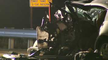 Two drivers died in a collision on Interstate 279 in Ohio Township.
