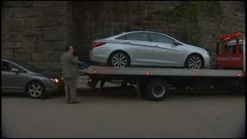 Pittsburgh police towed two cars away from Dr. Autumn Klein's house after her death.