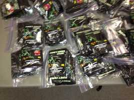Warrants were issued for eight people suspected of being part of a ring that distributed synthetic marijuana through convenience stores in Washington County.