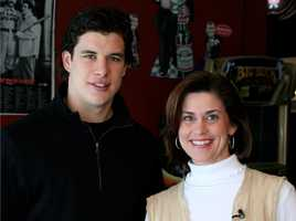 Pittsburgh Penguins captain Sidney Crosby...