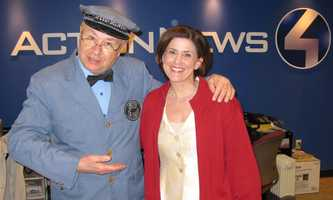 "... and David Newell, who played ""Mr. McFeely"" on the children's TV show ""Mister Rogers' Neighborhood."""