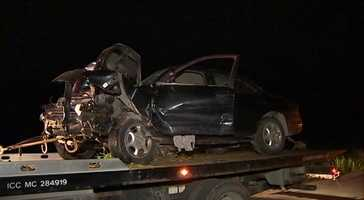 A 16-year-old driver was killed in this crash inIndependence Township, Washington County.