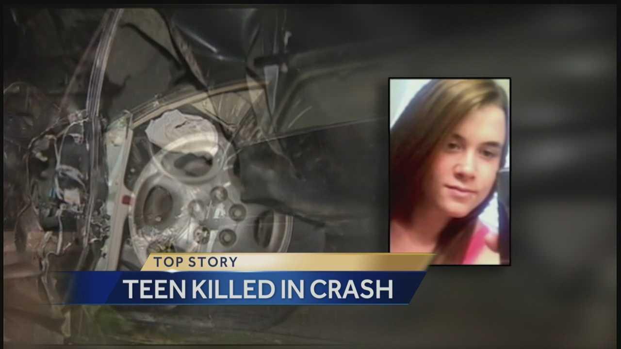 img-Teen killed in crash