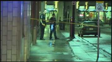 "Pittsburgh police say a man was shot to death after an argument outside the ""O"" in Oakland."