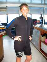Maria Jarosh after weight loss.