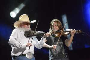 """CHARLIE DANIELS - The summer's hottest television music event, """"CMA Music Festival: Country's Night to Rock,"""" (Photo: ABC/Jon LeMay)"""