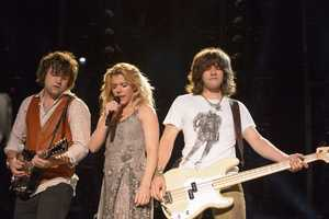 """THE BAND PERRY - The summer's hottest television music event, """"CMA Music Festival: Country's Night to Rock,"""" (Photo: ABC/Jon LeMay)"""