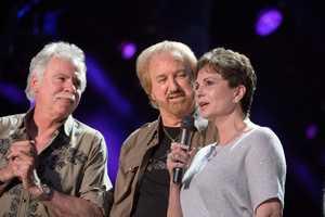 "THE OAK RIDGE BOYS, NANCY JONES - The summer's hottest television music event, ""CMA Music Festival: Country's Night to Rock,"" (Photo: ABC/Jon LeMay)"