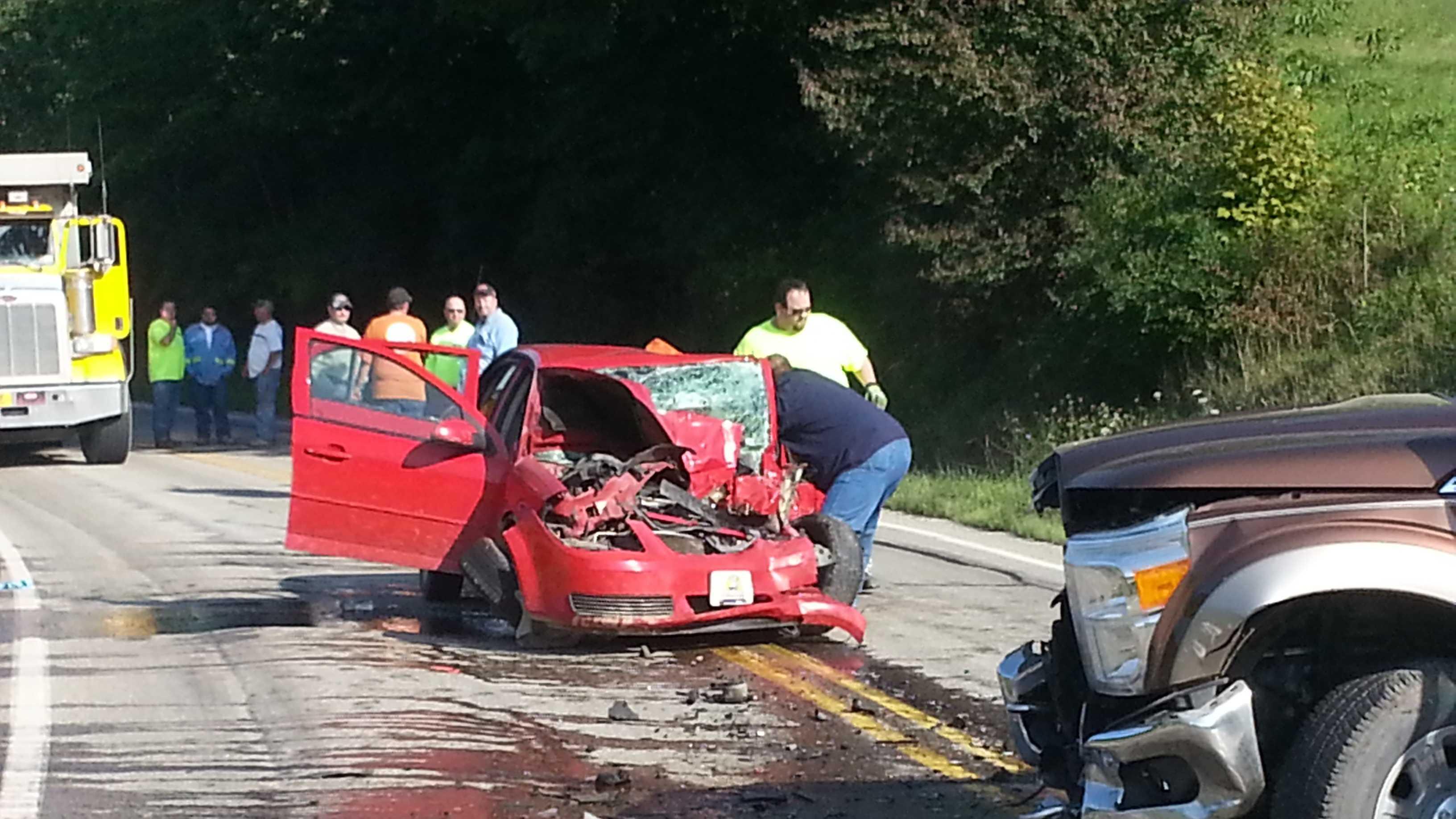Center Township crash